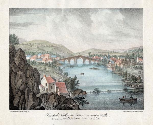 Lithographie de M. Charles Vauquelin - 1827