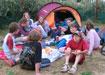 Les ados en camping