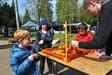 Jeux dans le parc