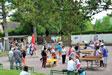 Jeux dans le parc public