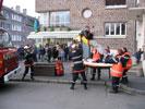 Manoeuvre des sapeurs-pompiers